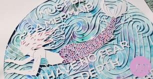 Mermaid (detail), by Melissa Holmes