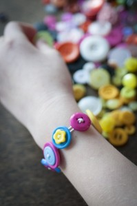 Button Bracelet Kit from Make It Friday. Image used with permission.  http://www.makeitfriday.co.uk/collections/featured/products/button-bracelet-kit-1