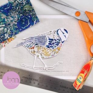 Blue tit :: © Melissa Holmes holmesmadepapercuts