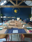 The beautiful workshop space at Swallows & Artisans