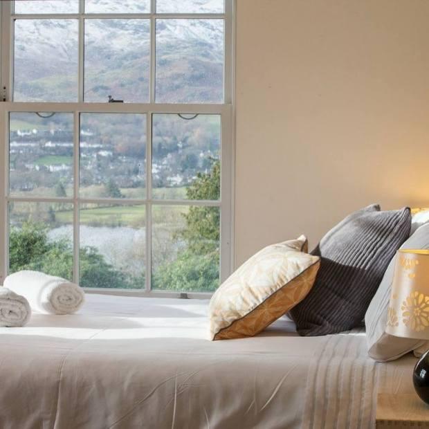 Lanehead, Coniston –bedroom view
