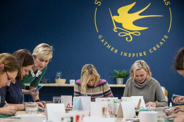Teaching at Swallows & Artisans
